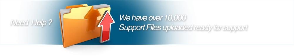 Need help? We have over 10,000 Support Files uploaded ready to help!